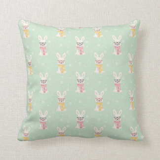 Smart Winter Bunny Cushion