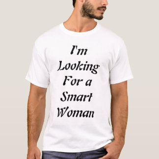 smart woman in a real short skirt T-Shirt