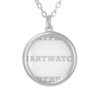 Smartbrain? Silver Plated Necklace