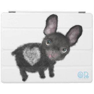 Smartcover for ipad 2/3/4 cute bulldog iPad cover