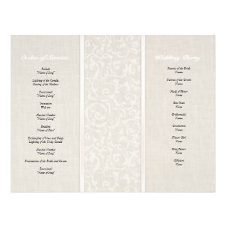 SmartElegance Natural Wedding Collection 21.5 Cm X 28 Cm Flyer