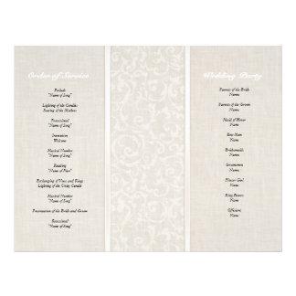 SmartElegance Natural Wedding Collection 21.5 Cm X 28 Cm Flyer