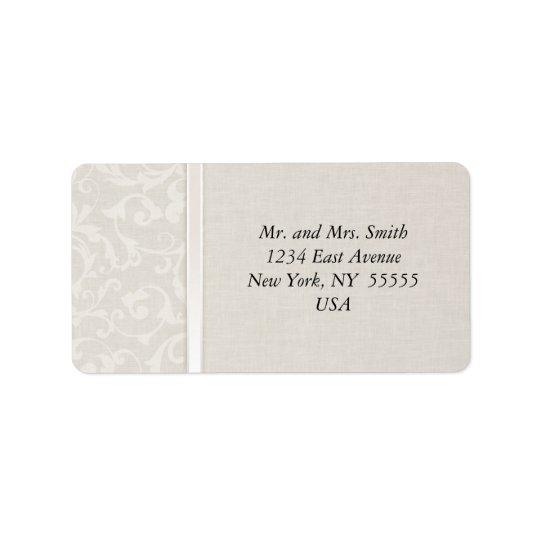 SmartElegance Natural Wedding Collection Address Label
