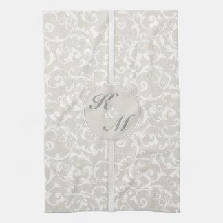 SmartElegance Natural Wedding Collection Hand Towel