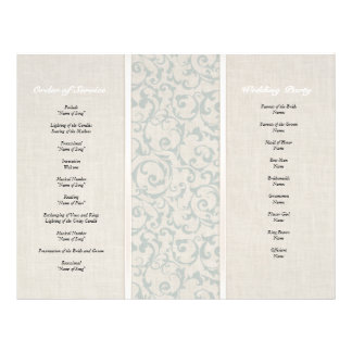 SmartElegance SeaSpray Wedding Collection 21.5 Cm X 28 Cm Flyer
