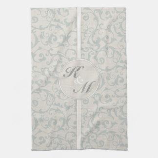 SmartElegance SeaSpray Wedding Collection Hand Towel