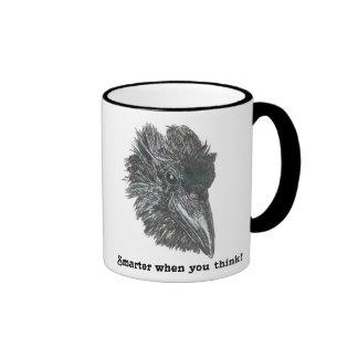 Smarter When You Think Raven Mug