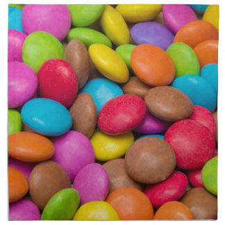 Smarties Candy background Napkin