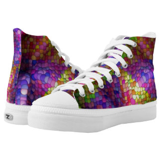 Smarties High-Tops Printed Shoes