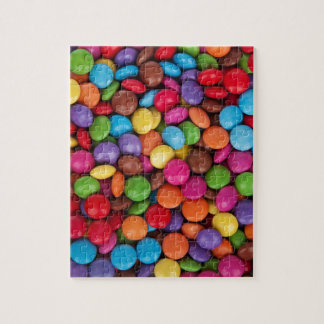 Smarties Multicoloured Sweets Jigsaw Puzzle