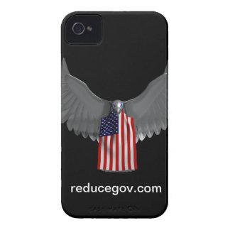 Smartphone case on black vertical