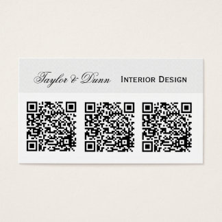 Smartphone QR Code   Photo or Logo Business Card