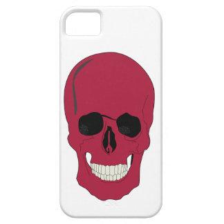 Smartphone red skull design iPhone 5 cases