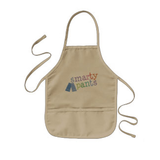Smarty Pants Funny Kids Apron