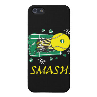 smash tennis ball ripping thru case for iPhone 5