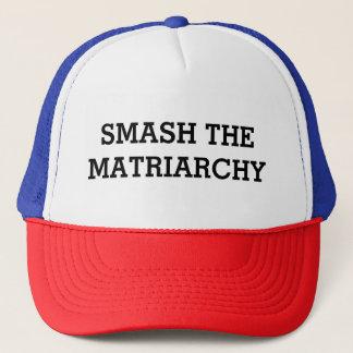 Smash the Matriarchy Trucker Hat
