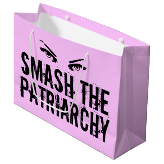 Smash the Patriarchy Feminist Large Gift Bag