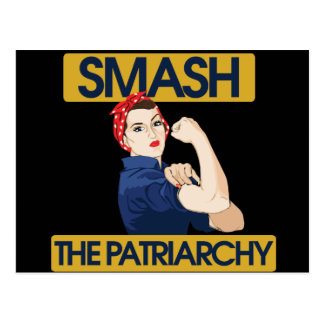 Smash the Patriarchy Post Cards