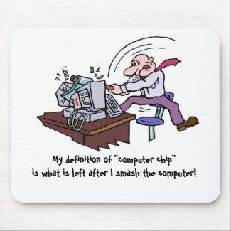 Smashing Computer mousepad