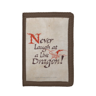 SMAUG™ - Never Laugh At A Live Dragon Tri-fold Wallets