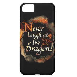 SMAUG™ - Never Laugh Logo Graphic iPhone 5C Case