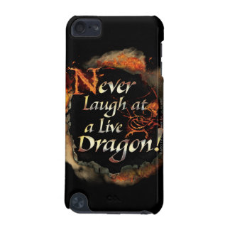 SMAUG™ - Never Laugh Logo Graphic iPod Touch 5G Case
