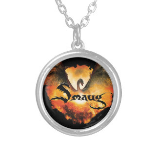 SMAUG™ Over Laketown Silver Plated Necklace