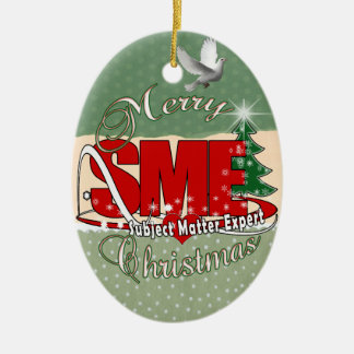 SME CHRISTMAS Subject Matter Expert Christmas Ornament