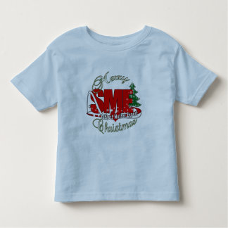 SME CHRISTMAS Subject Matter Expert Toddler T-Shirt