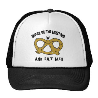 Smear On The Mustard And Eat Me Pretzel Cap