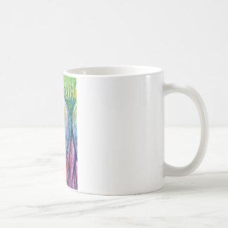 Smeared Morning Coffee Mug