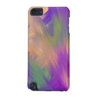 Smeared Paint iPod case