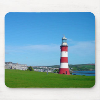 Smeaton's Tower, Plymouth Hoe Mouse Pad
