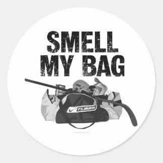 Smell My Bag (Hockey Stench) Classic Round Sticker