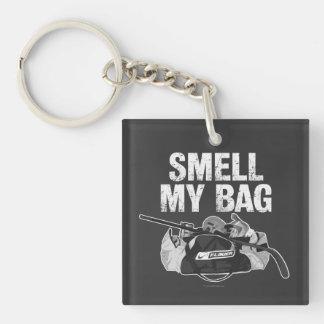 Smell My Bag (Hockey Stench) Key Ring