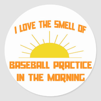 Smell of Baseball Practice in the Morning Sticker