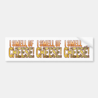 Smell Of Blue Cheese Bumper Sticker