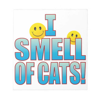 Smell Of Cats Life B Notepad