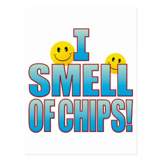 Smell Of Chips Life B Postcard