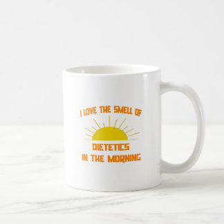 Smell of Dietetics in the Morning Coffee Mug