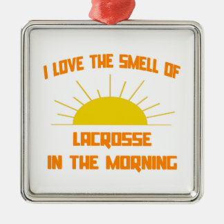 Smell of Lacrosse in the Morning Christmas Tree Ornaments