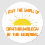 Smell of Ophthalmology in the Morning Round Stickers