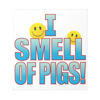Smell Of Pigs Life B Notepad
