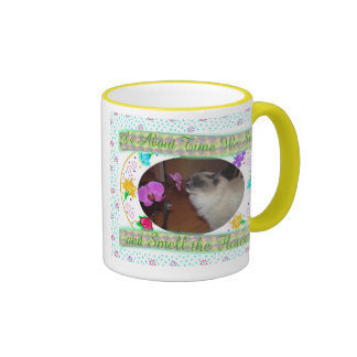 Smell the Flowers 2 Mugs