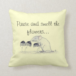 Smell the Flowers - American MoJo Pillow Cushions