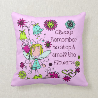 Smell the Flowers Pillows