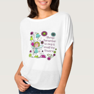 Smell the Flowers Gardening Pretty T-Shirt