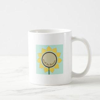 Smell The Flowers Coffee Mug