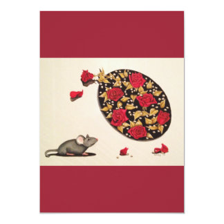 Smell the Roses 13 Cm X 18 Cm Invitation Card
