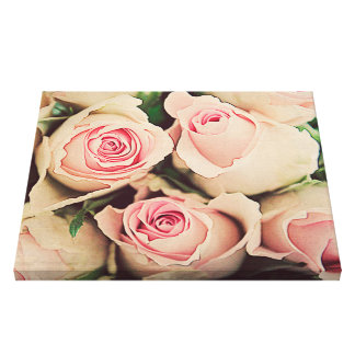 Smell the roses.. canvas print